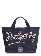 Джинсовая сумка POOLPARTY Синий poolparty-sailor-jeans