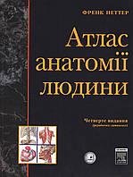 Атлас анатомії людини, 4-е українсько-латинське  видання. Неттер Ф.