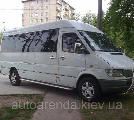 Оренда мікроавтобуса Мерседес спрінтер на 18 місць