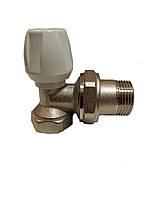 Кран радиаторный угловой подача 3/4 ICMA
