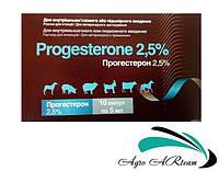 Прогестерон 2,5%, 10 фл.х 5 мл, гормональный препарат