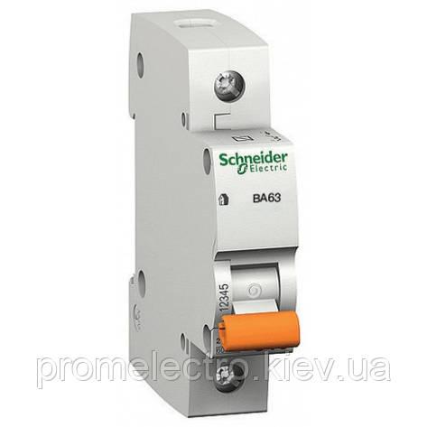 Sсhneider 11201 ВА63 1п 6А С автоматический выключатель, фото 2
