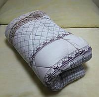 Одеяло из овечьей шерсти 180×210см с плотной тканью