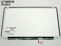 "Матрица 15.6"" AUO B156XW03 V.1 (1366*768, 40Pin справа, LED Slim (ушки сверху-снизу), Глянцевая)."