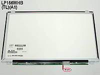 "Матрица 15.6"" AUO B156XW04 V.5 (1366*768, 40Pin справа, LED Slim (ушки сверху-снизу), Глянцевая)."