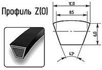 Ремень клиновый Z-650