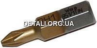 Бита Wera PH1 25mm Tin