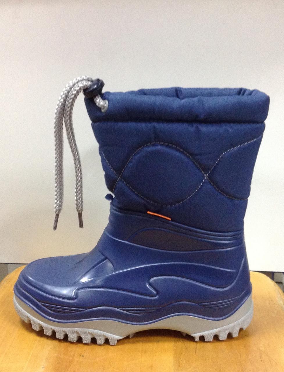 Сапоги зимние для мальчика синие DEMAR   продажа 16d9737c6c4b6