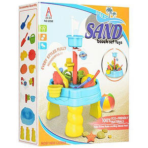 Детский столик-песочница 2098, фото 3