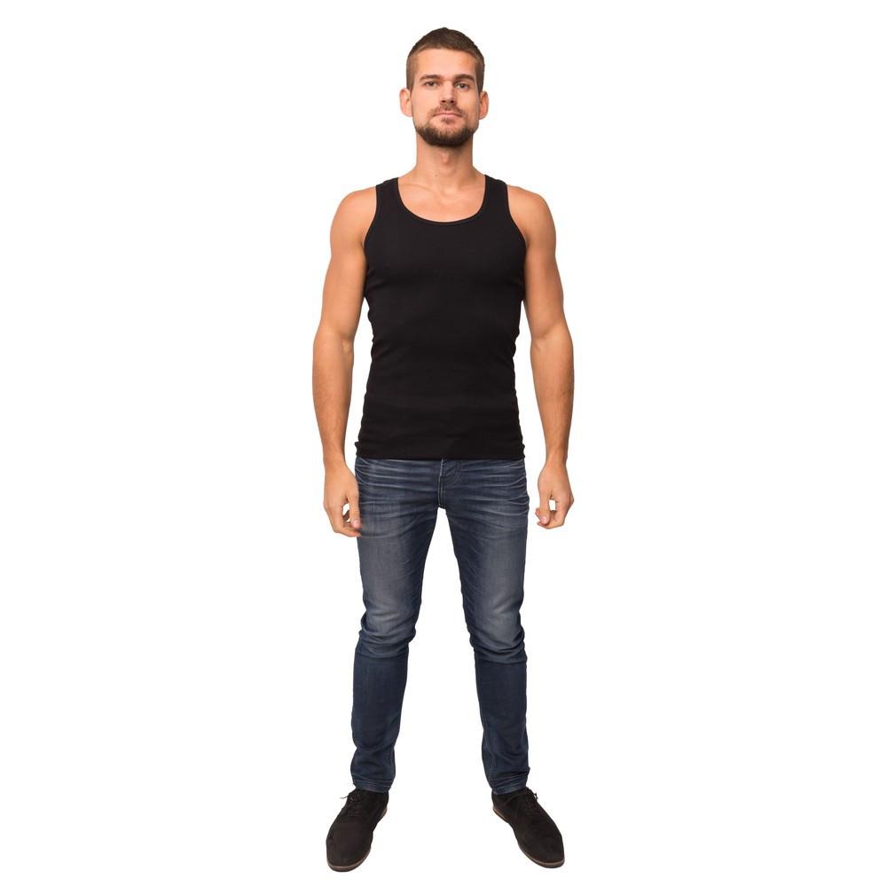 Майка мужская черного цвета 21-1103 (XL)