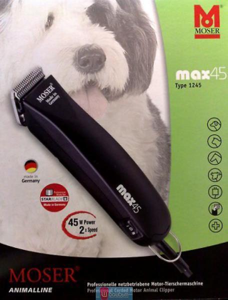 Машинка для стрижки животных MOSER Max 45W+Подарок!, фото 1