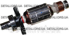 Якорь фрезер Maktec (Makita) MT361 оригинал 510205-9 ( 170*41 резьба 17мм)