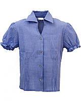 Детская блуза с коротким рукавом. Размер 128