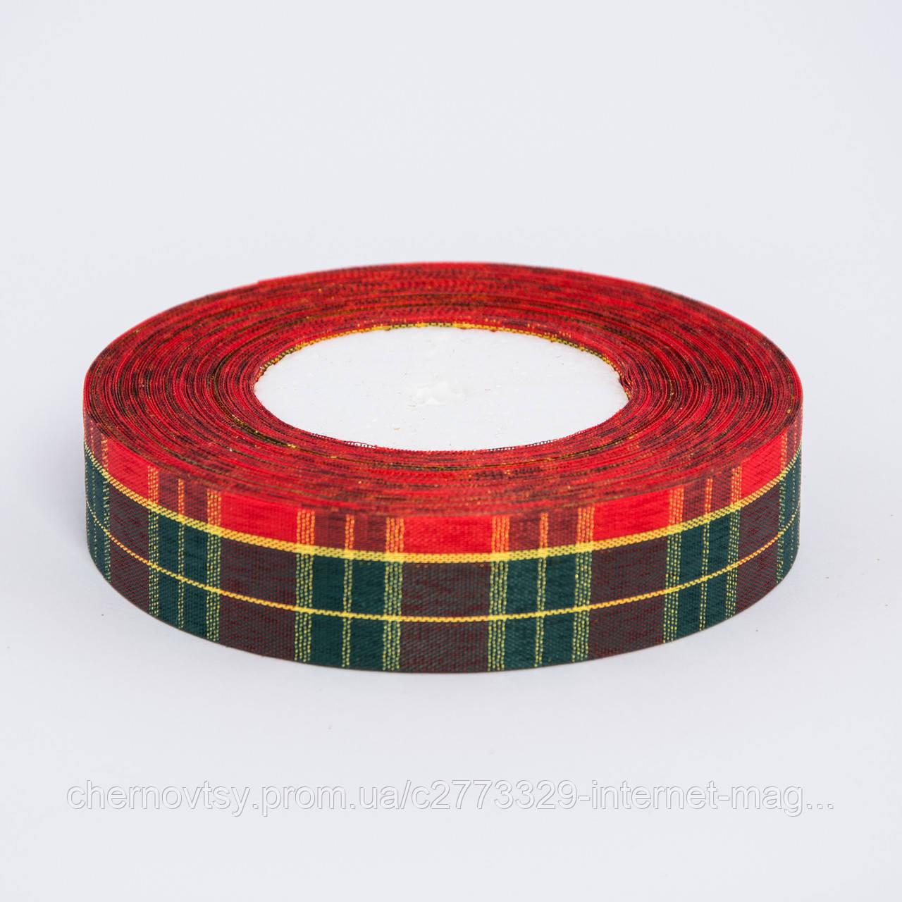 """Лента 2.5 см """"Шотландка"""", 45 м"""