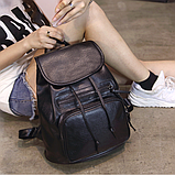 Рюкзак городской черный, фото 9