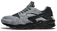 "Мужские кроссовки Nike Air Huarache Gucci ""Gray"""