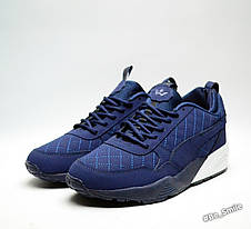 Кроссовки мужские Puma Blaze of Glory Winter Shoes (синие) зимние (Top replic), фото 2
