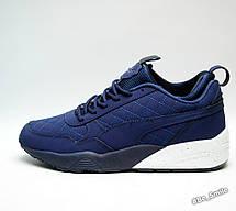 Кроссовки мужские Puma Blaze of Glory Winter Shoes (синие) зимние (Top replic), фото 3