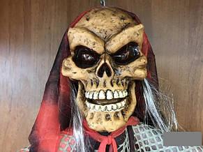 Декорации на праздник Хэллоуин Halloween скелет 1.5м х 1м, фото 2