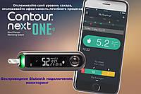 Глюкометр Bayer Contour Next ONE (Bluetooth подключение), фото 1