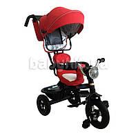 Трехколесный велосипед с ручкой Babyhit Kids tour Красный
