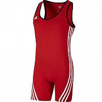 Трико для тяжелой атлетики ADIDAS Base Lifter Weightlifting Suit (Красное) M
