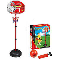 Баскетбольный набор (арт. 137-H), пластик, Цветная коробка, 87x33x71см, JAMBO, 100786610