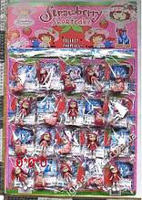 Фигурки Strawberry Shortcake на планшете 20 шт