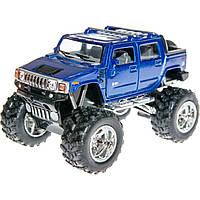 "Машина металл ""KINSMART"" KT5326W (96шт/4)""2005 Hummer H2 SUT"" в кор. 15*9*8,5см"