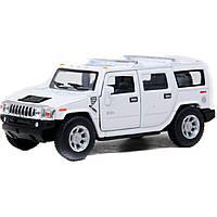 """Модель джип 5"""" KT5337W HUMMER H2 SUV (2008) метал.инерц.откр.дв.1:40 кор.ш.к./96/"""
