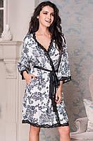 Короткий халат Mia-Mella Паулина (Paulina) 8163