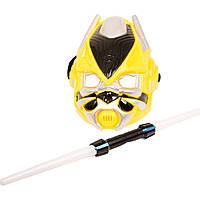 Набор супергероя 2211-B (96шт) TF, маска, меч, звук, свет, на бат(табл), в кульке, 21,5-34-7см