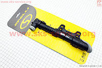 Насос MTB пластмассовый для велосипеда, черный SPM-104K
