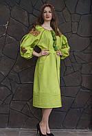 Платье вышитое HELEN, фото 1