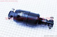 Амортизатор задний закрытый AMT 150мм регулируемый, черный