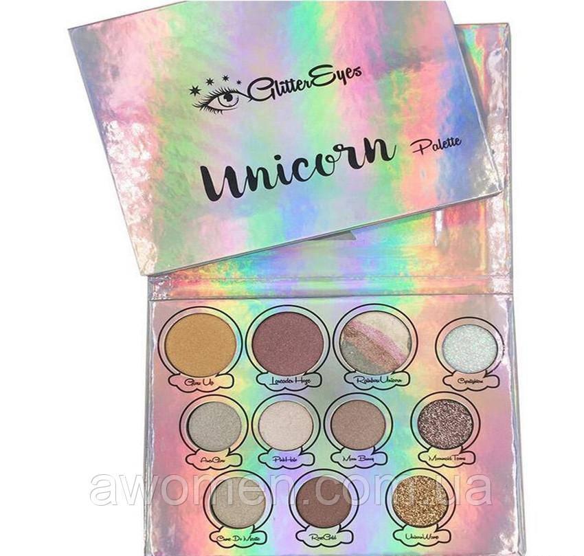 Тени GlitterEyes Magica Unicorn (11 цветов)