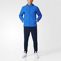 Спортивный костюм Adidas CON16 PRE SUIT (Синий)