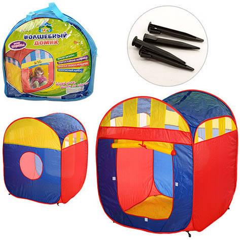 Палатка детская игровая 90-85-105см, 1вход, фото 2
