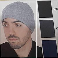 """Стильная шапка """"Шадо51"""" для мужчин с отворотом, флис, акрил, разные цвета, 135/115 (цена за 1 шт. + 20 гр.)"""