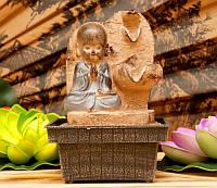 """Водопад """"Даосский монах"""" полистоун (высота 19 см)"""