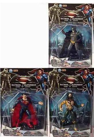 Герои JL фигурки Супермен, Бэтмен, фото 2