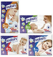 Детские подгузники Toujours (Тужур) Польша