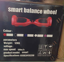 Гироскутер, Смартвей Smart Батарея 4400 15 км/ч, без пульта, фото 2