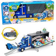 Игровой набор Робокар Поли (Robocar Poli) Трейлер-гараж XZ-315, фото 1