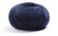 Тонкая пряжа кид-мохер LAMANA Premia 11, Marineblau, Navy, темно-синий