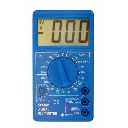 Мультиметр цифровой DT-700C, фото 2