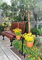 Стойка садовая для кашпо декоративная СД-2