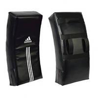 Щит ударный Adidas искревленный черный 80х35,5х15