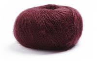 Тонкая пряжа кид-мохер LAMANA Premia 16, Bordeaux, бордо, бордовый