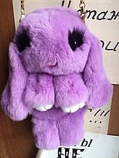 Сумка,рюкзак Пушистый Кролик из натурального меха, фото 2